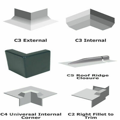 Fibreglass GRP corner Trims