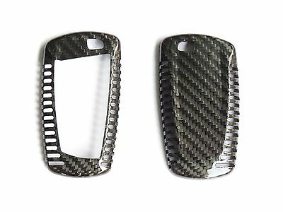 Pinalloy Real Carbon Fiber Remote Key Cover Case Skin Shell BMW 1 3 5 7 X3 X5