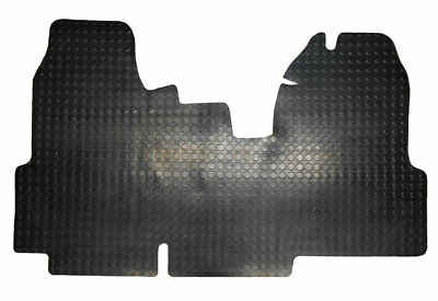 Ford Transit MK7 Van (2006-2013) Black 3mm Penny Rubber Floor Mats