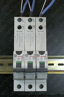 GE DPE 30mA RCBO Circuit Breaker - Free Delivery - TESTED