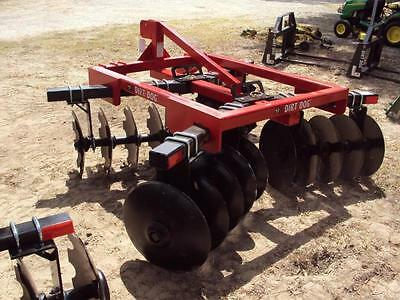Dirt Dog Heavy Duty 300-10 Adjustable Disc Harrow