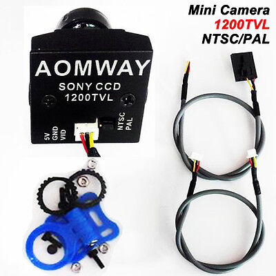 AOMWAY 1200 TVL 960P HD Mini Camera 2.8mm Wide Angle Lens Module Fr Sony CCD FPV