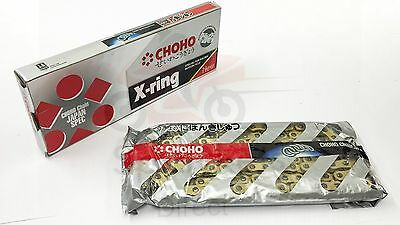 New CHOHO Heavy Duty X Ring Gold Chain 520 x 120 Motocross Enduro