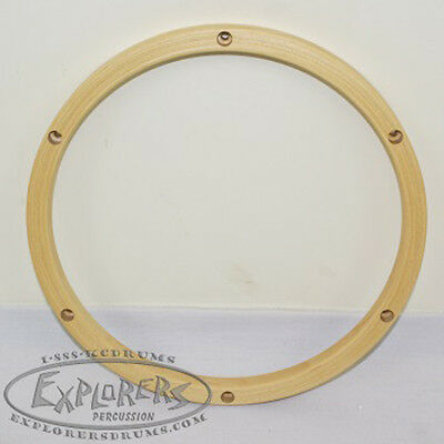 "Wood Drum Hoop 12"" 6 Lug 24 ply Wood Rim"