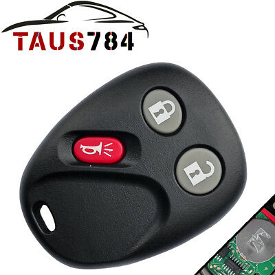 1x Replacement Keyless Entry Remote Control Car Key Fob for 03-06 GMC