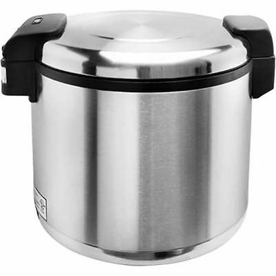 New Commerical Auto Electric Rice Warmer 50 CUPS Stainless Steel SEJ-22000