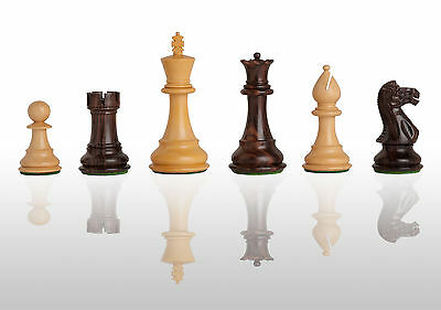 """The Classic Chess Set - Pieces Only - 3.75"""" King - Indian Rosewood"""