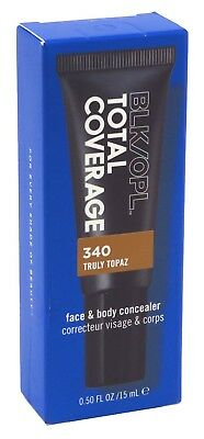 (2 Pack) BLACK OPAL TOTAL COVERAGE SPOT & SCAR CONCEALER 0.5 Ounce TOPAZ