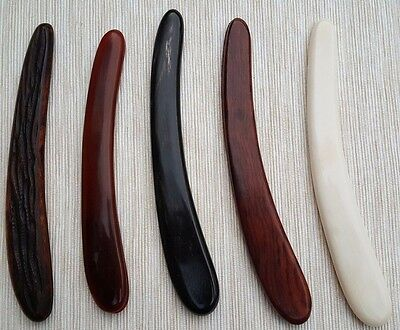 Straight Razor Scales Horn, Camel Bone, Rosewood for restorations  6/8th 7/8th+