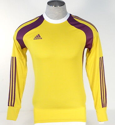 0b354165d1b Adidas AdiZero Onore 14 GK Yellow & Purple Long Sleeve GoalKeeper Jersey Men  NWT
