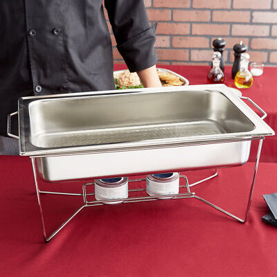 """Choice Replacement 4"""" Deep Full Size Stainless Steel Chafer Dripless Water Pan"""