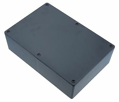 1591XXFSBK Genuine Hammond Black ABS Enclosure Box (221 x 150 x 63mm)
