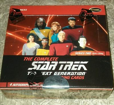 Star Trek Next Generation TNG Complete Serie 2 Box sealed OVP