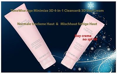 Mary Kay TimeWise Age-Fighting Moisturiser+Mary Kay TimeWise 3-In-1 Cleanser