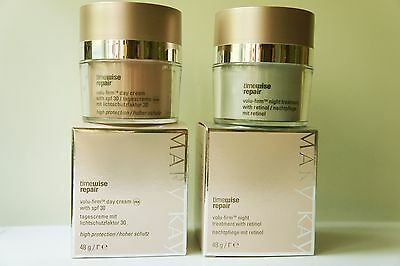 Mary Kay TimeWise Repair Volu-Firm  Day Cream SPF + Night Treatment With Retinol