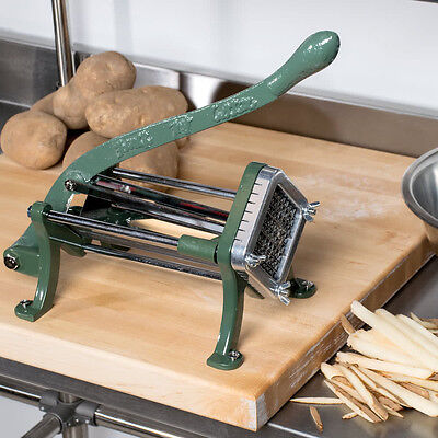 "Choice 3/8"" Green French Fry Cutter / Potato Cutter / Slicer"