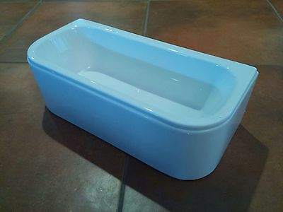 Teal Blue LAUNDRY BASKET or WASH TUB for American Girl Doll House Pet Shop