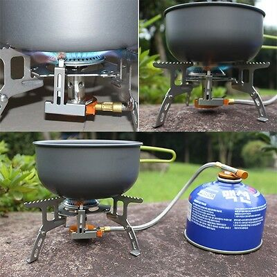 Portable Split Type Gas Stove Picnic Furnace Outdoor Camping Cooking OK