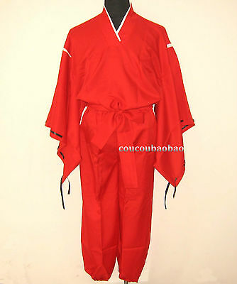 Halloween Anime Inuyasha Clothes Inuyasha COS Clothing Miko Cosplay Costume