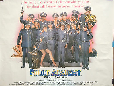 Steve Guttenberg  POLICE ACADEMY (1984) Original movie poster