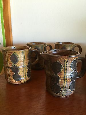 Vintage Retro Coffee Set Made In Japan Mid Century Stunning Design
