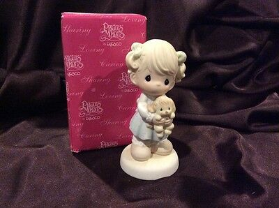 Precious Moments Figurine 4004375 You Were Made For Me~NEW IN BOX~RETIRED~