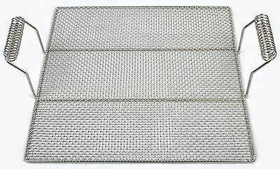 """Donut Screen with Handles 19""""x19"""" Stainless Steel Pitco, Belshaw"""