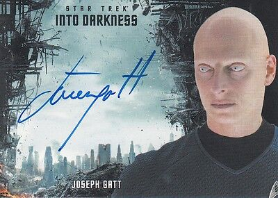 Star Trek Movies 2014 - Into Darkness - Joseph Gatt (D) autograph