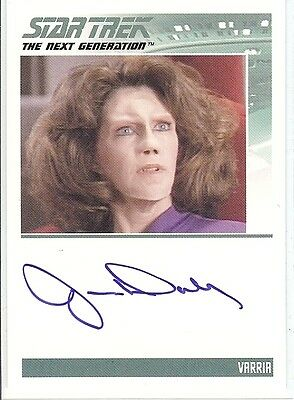 Star Trek TNG Complete Serie 2 : Jane Daly (Varria) autograph
