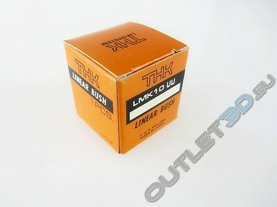 New in box - THK LMK10UU bush bearing linear  square flange 10x19x29mm