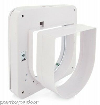 Staywell Petsafe Smart Flap Petporte Microchip Cat Tunnel Extension White