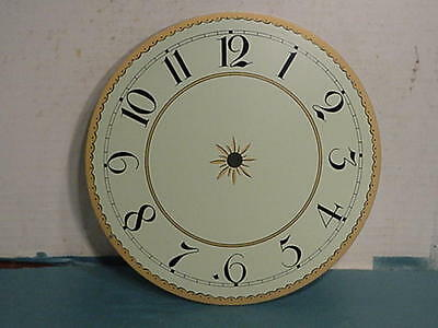 Stennis Girondole and Lyre Clock Dial