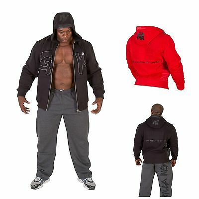 Gorilla Wear Logo Hooded Jacket Jacke Sport Fitness Bodybuilding