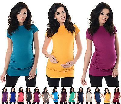 Purpless Maternity 100% Cotton Pregnancy Tee Top T-shirt 5025
