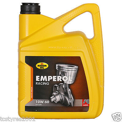 Kroon Oil Emperol Racing 10 W 60  - 5 Litre -  Engine Oil