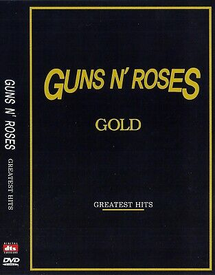 Guns N' Roses Gold - Greatest Hits DVD NEW *FAST SHIPPING*