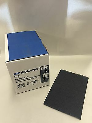 "Norton Bear-Tex 6"" X 9"" Gray Final Prep Scuff Pads 20ct 58002 FREE PRIORITY"