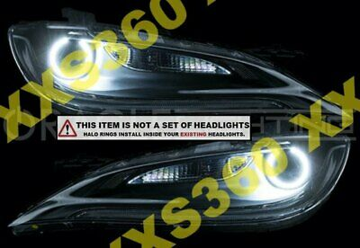 ORACLE For Nissan Altima Coupe 10-11 GREEN LED Headlight Halo Angel Demon Eyes