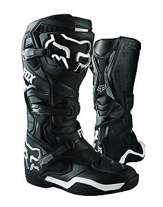 New 2017 Fox Racing Comp 8 Mx Offroad Boots- Black