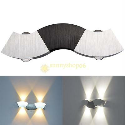 3W 3 LED Up Down Wall Lamp Spot Light Modern Pathway Outdoor Sconce Lighting Hot