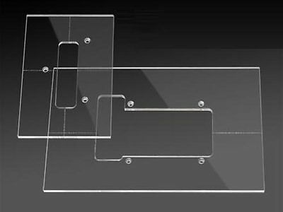 Routing Template Set - Floyd Rose Tremolo Cavities