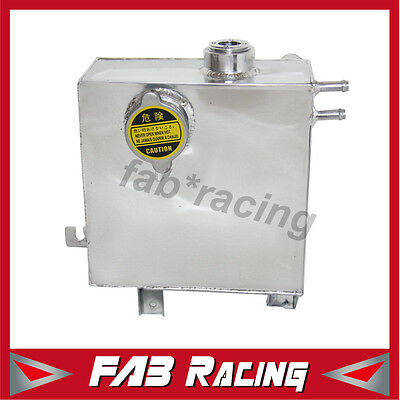 Aluminum Bottle Polished Overflow Tank For Ford Falcon Xr6 Xr8 1998-2002