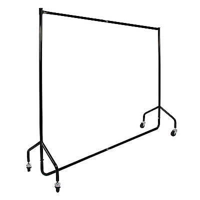 Clothes Rail 5ft Heavy Duty Shop Display Clothing Stand Dress Garment Metal