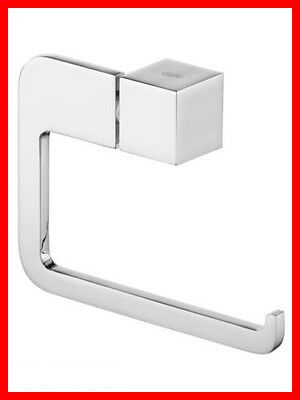 Bisk Futura Silver 02990 Toilet Roll Holder Chrome - Bathroom