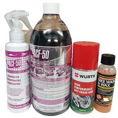 Genuine ACF-50 Anti Corrosion 950ml & Spray Motorcycle Bike Scooter Protector