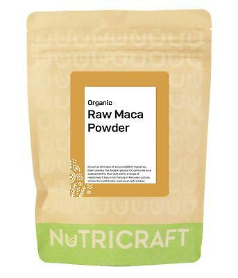 1kg ORGANIC MACA root powder (raw) - 4 x 250g - top grade superfood, great value
