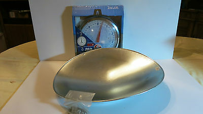 Taylor Hanging Scale + Scoop Heavy Duty 20 lb #3420 1/16th marks Food Home Farm