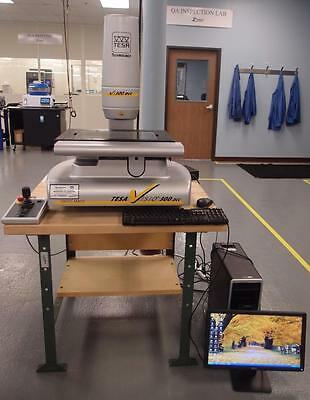 TESA Visio 300 DCC Optical Coordinate Measuring CMM Video Measuring Machine