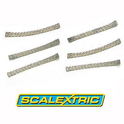SCALEXTRIC 1:32 Spares - C8075 Standard Pick-up Braids / Brushes x 6