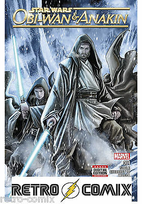 Marvel Obi-Wan And Anakin #1 First Print New/unread Bagged & Boarded